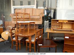 used second hand furniture on sale on a uk high street dxfj8y