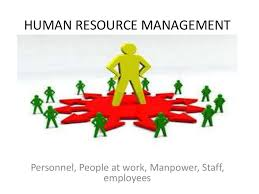 Resources At Work Human Resource Management Ppt