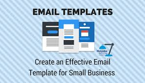 Create An Effective Email Template For Small Business