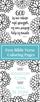 Small Picture Free Printable Bible Verse Coloring Pages with Bursting Blossoms