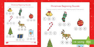 With so many pages to look through, i want to make sure you find some of our most popular sheets! Christmas Words Beginning With A Sounds Worksheet