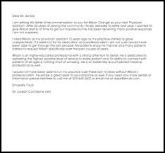 Physician Assistant Letter Of Recommendation Dolap Magnetband Co
