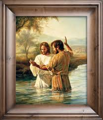 The Baptism - Christian Art by Greg Olsen