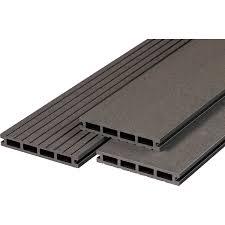In unserem wohnzimmer ist ein holzdielenboden, uneben, schief und wellig (altbau). Terrassendiele Wpc Anthrazit 2 1 Cm X 14 5 Cm X 300 Cm Kaufen Bei Obi