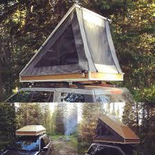 diy rooftop tent bulky but fun