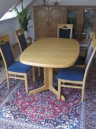 Eßtisch Eiche Natur Mit 6 Stühlen