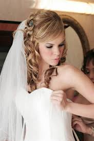 Wedding Haarstils For Medium Length Haar With Veil Tlnrn Half Up