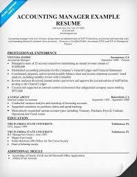 Circus Resume Sample Inspirational Accounting Manager Resume Sample