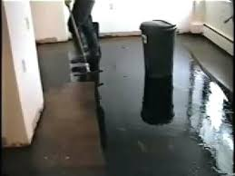 removing adhesive from concrete tile glue remover