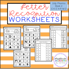 Free interactive exercises to practice online or download as pdf to print. Letter Recognition Worksheets Jolly Phonics Book 2 By Playhouse Academy