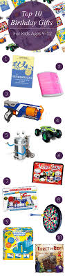 top 10 birthday gifts for kids ages 9 12