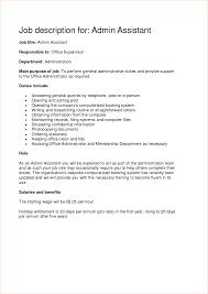 System Administrator Job Description Resume System Administrator Job Description Template Officerator Resume 23