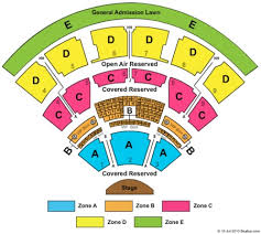 Twc Pavilion Seating Chart Time Warner Cable Music Pavilion At Walnut Creek Tickets