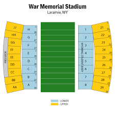 Wyoming Cowboys Stadium Seating Chart Colorado State University Rams Football At Wyoming Cowboys
