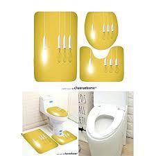 bath mats set yellow pattern bath mat piece bathroom mats difference light bulb on yellow background bath mats set