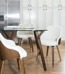 modern upholstered dining room chairs innovative on other with regard to mid century chair 6 table