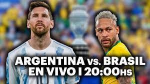 ARGENTINA VS. BRASIL ⚽️ VIVILO EN TyC ...