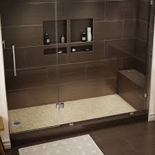 spacious large shower pans on 48 x tile ready pan what is the best neo angle