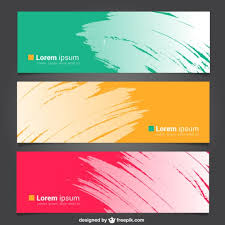 free template designs free design banner template 40 creative free banner