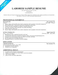 Sample Resume For Maintenance Worker Zromtk Simple Resume For Maintenance Worker