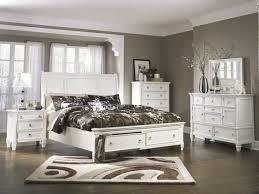 Prentice Bedroom Set Ashley Furniture Sleigh Storage Footboard Bedroom Set