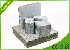 eco friendly lightweight insulated precast eps concrete sandwich wall panels interior