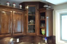 fascinating veneered wood and glass kitchen cabinet doors inspiration