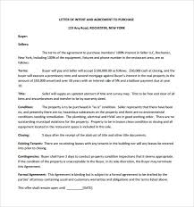 Sample Letter Of Intent To Purchase 9 Documents In Pdf Word