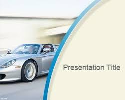 Car Template Free Porsche Powerpoint Template