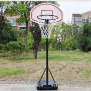 zimtown 54u002767u0027 height adjustable basketball hoops movable portable goals outside basketball hoop 514