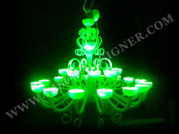 led nightclub lights chandelier