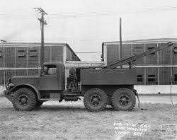 mack trucks mack 6x4 n model 4 to 6 ton wrecker photo dated 15 1941 national archives c o olive drab com