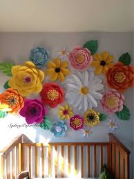 Wall Decoration Paper Design Paper Flowers Decoration Home Design Large For Sale Craft 66