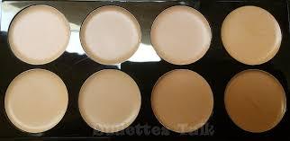 makeup revolution cover conceal palette in light um in natural light