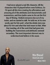 Real Life Quotes Best Vin Diesel Quotes QuoteHD