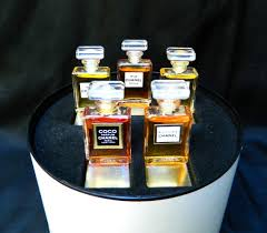 chanel 5 gift set. rare vintage chanel gift set 5 crystal perfume by odona on etsy, $155.00