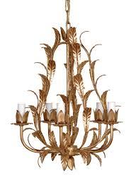 cl23 gilt leaf chandelier antique gold finish gold leaf chandelier33
