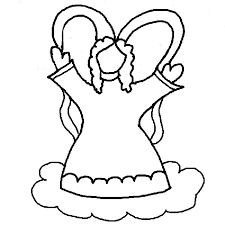 Small Picture Angel coloring pages for kids ColoringStar