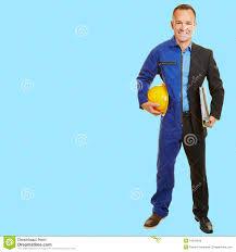 man between job change in work clothes stock photo image  man between job change in work clothes