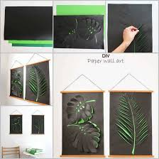 creative wall decor fresh creative ideas diy paper leaf wall art