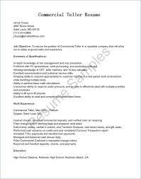 ☜ 40 Bank Teller Job Description For Resume New Teller Resume