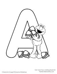 Colouring Letters For Preschoolersllllll L