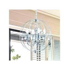 chrome orb chandelier 5 light crystal chandeliers glass lovely for metal chandeli chrome orb chandelier metal finish crystal