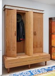 Coat Rack Cabinet Kitchens Creative Cabinet Also Doubles As The Perfect Coat Rack 7