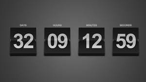 Calendar Countdown Days Create A Sleek Countdown Timer Photoshop Tutorial Youtube