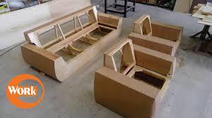 estrutura corner sofa