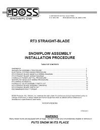 boss snow plow wiring diagram boss 13 pin wiring harness at Boss Plow Wiring Harness Diagram