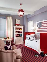 red and white furniture. red white and blue toddler rooms furniture