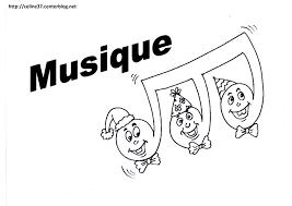 Note De Musique Dessin Coloriage