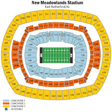 Metlife Stadium Seating Chart Metlife Stadium Seating Chart Jets Best Picture Of Chart